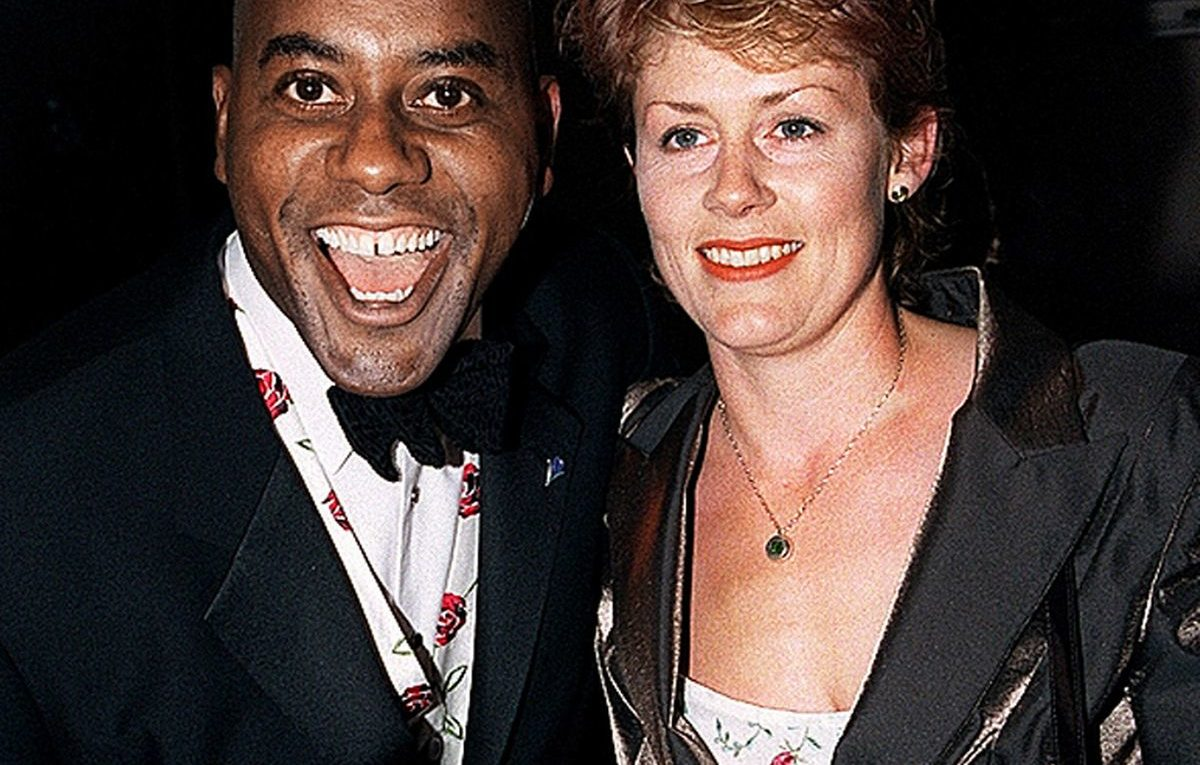 Ainsley-Harriot-and-his-wife-Clare