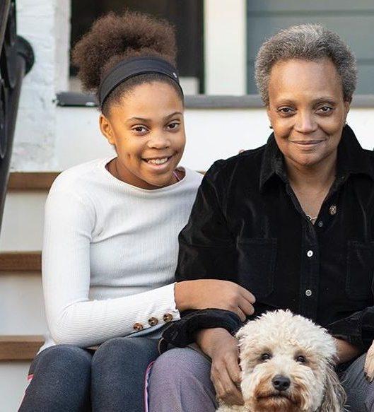 Lori-Lightfoot-with-her-daughter