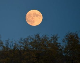 Here's The Spiritual Meaning Of October's Full Hunter's Moon